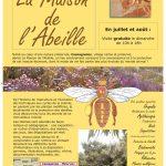 la maison de l'abeille à Cassagnoles