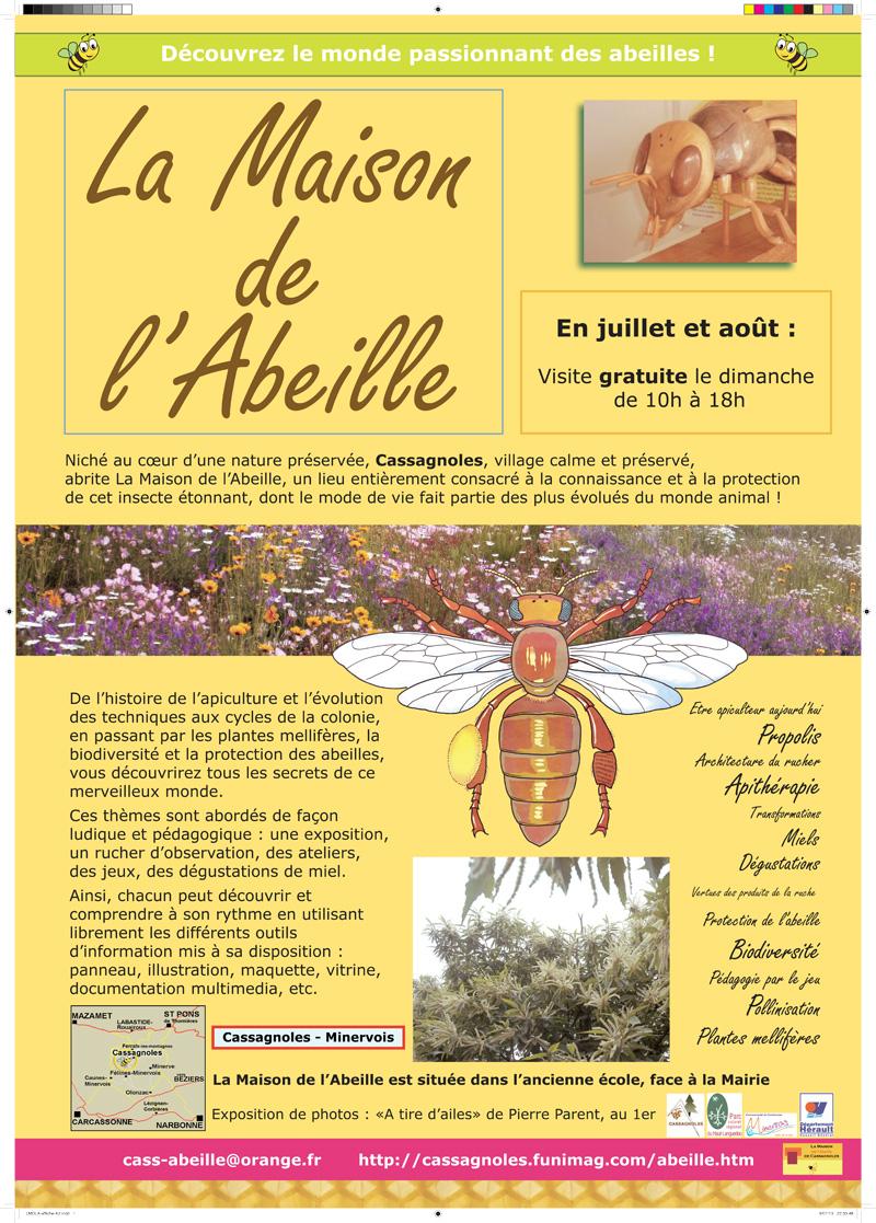 Nos activit s la maison de l 39 abeille for Abeilles dans la maison