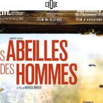 affiche : les abeilles et les hommes, film documentaire