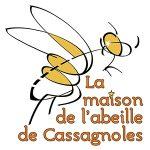 logo la maison de l'abeille 2016