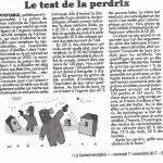 article du Canard enchainé