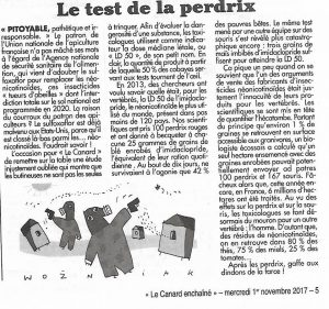 article du Canard enchainé